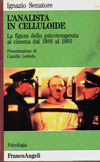 """""""L'analista in celluloide"""" di I. Senatore – Franco Angeli Editore (1996)"""