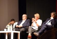 Foto Archivio: Ignazio Senatore, Manuel De Sica, Pasquale Squitieri al Festival dei Due Mondi di Spoleto 2014