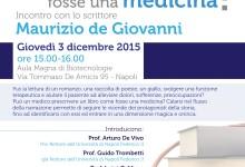"""""""E se il libro fosse una medicina?"""": Ignazio Senatore, Maurizio de Giovanni…"""
