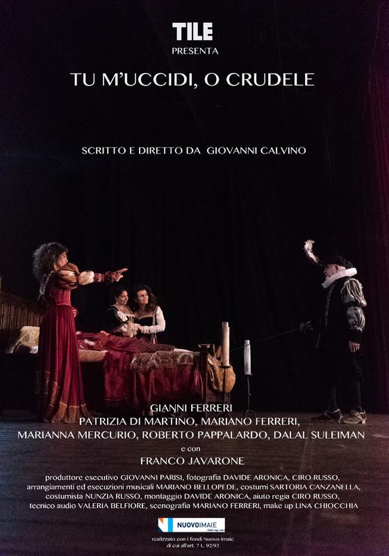 Resultado de imaxes para tu m'uccidi o crudere con Franco Javaron e Gianni Ferreri per la regia di Giovanni Calvino