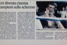 """Recensione """"Quando il campione recita"""" di Francesco De Luca -Il Mattino – 24-7-2109"""