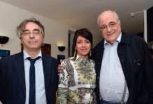 Foto Archivio: Ignazio Senatore, Manuel De Sica, Maria Mazzoli al Festiva dei Due Mondi di Spoleto 2014