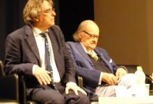 Foto Archivio: Ignazio Senatore, Ugo Gregoretti al Festival dei Due Mondi di Spoleto 2014