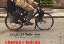 Cinema e felicità – Torre Annunziata 22 settembre 2018- Incontro con il prof. Ignazio Senatore