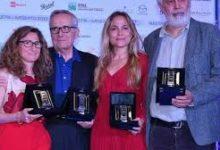 Valia Santella e Maurizio Braucci, due sceneggiatori napoletani premiati con i David