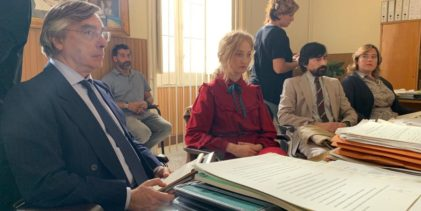 """Ignazio Senatore: """"Sono l'avvocato di Alba Rorwacher nel film """"Lacci"""""""